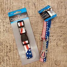 Duke's Pet Products Patriotic Collar And Leash Set