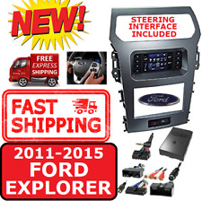 Metra 99-5847CH FORD EXPLORER 2011-15 DOUBLE DIN CAR RADIO DASH KIT W/ A/C