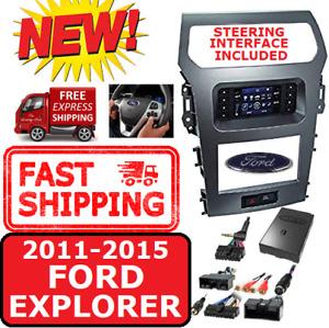 Metra 99-5847CH FORD EXPLORER 2011-15 DOUBLE DIN CAR RADIO DASH KIT W/ A/C