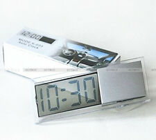 Digital LCD Display Time Clock for Vehicle Car View Mirror Suction Cup