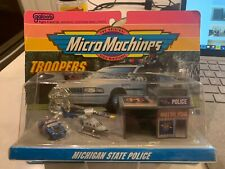 1992 Lewis Galoob Toys Micro Machines Troopers Michigan State Police #2 RARE