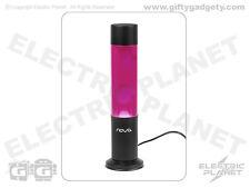 Pink / White Nova Illusion Cylinder Lava Lamp 38cm Tall, UK Mains Plug