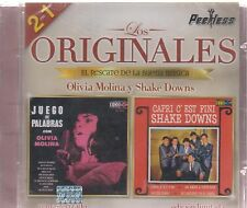 CD - Los Originales Peerless 2 En 1 Olivia Molina Y Shake Downs - BRAND NEW !