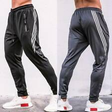 NEW Mens Casual Soccer Training Pants Sport Sweat Pants Trousers Slacks Pocket R