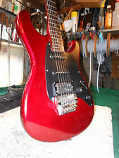 Ibanez Roadstar II Series RS440 Electric Guitar with Cherry Red Finish gig bag