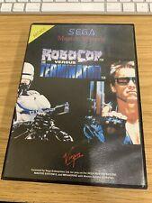 RoboCop vs. The Terminator - SEGA Master System SMS - No Manual