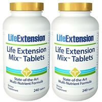 Life Extension 2x MIX TABLETS 240 = 480 Tabletten Multvitamin Mineralien Complex