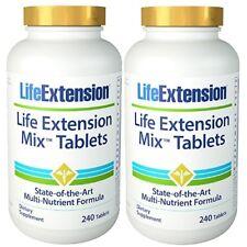 Life Extension 2x MIX TABLETS 240 = 480 Tabletten Multvitamin Mineralien Complex