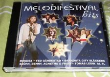 SWEDISH MELODIFESTIVAL HITS CD WITH EUROVISION SONG CONTEST SONGS ABBA AND OTHER