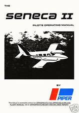PIPER PA-34-200T SENECA II / INFORMATION MANUAL / 1974