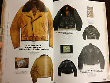 Vintage 1930s-1970s Leather Jacket Book Sports Horsehide Langlitz Togs Buco Beck