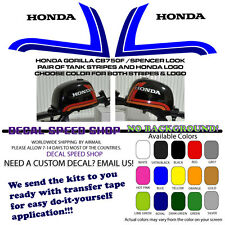 Honda Gorilla CB750F CB900F and Freddie Spencer Decal Kit