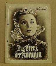 [K4-13] ILL. FILM-KURIER Nr. 3143 -DAS HERZ DER KÖNIGIN-ZARAH LEANDER