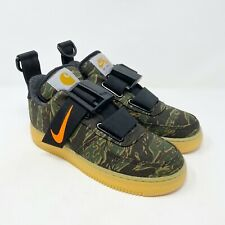 Nike x Carhartt Air Force 1 Utility Low Camo AV4112-300 Mens Size 6.5