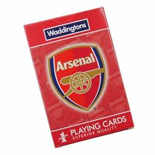 Arsenal FC Card Game - Waddingtons - Cards Game Poker Playing Cards Football