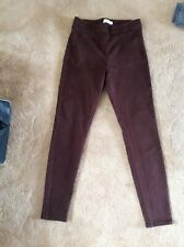 M&S Brown Jeggings Size 12.