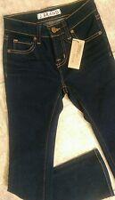NWT J BRAND Jeans Boot cut dark INK sz 8 GIRLS new
