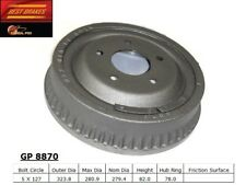 Brake Drum-Standard Rear Best Brake GP8870