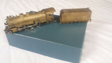 """H0 Pacific Fast Mail, United Western Pacific 2-8-2 Mikado """"Messing/Brass"""""""