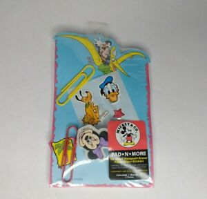 Disney By Colorbok Mickey & Co. Pad N More Notepad Minnie Eraser Stickers