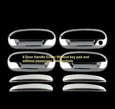 For FORD F150 1997-2003 Expedition 97-2002 Chrome 4 Door Handle Covers WITHOUT K