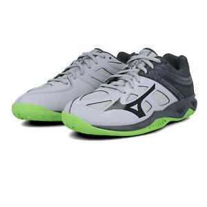 Mizuno Mens Thunder Blade 2 Indoor Court Shoes - Grey Sports Squash Handball