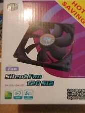 Cooler Master R4-S2S-124K-GP Case Fan 4 pack 1200 RPM silent fans 3 pin power