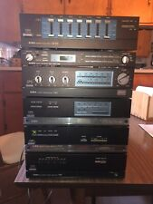 New listing Aiwa Vintage M-808 Mini Component Stereo System 1980s w/ Manuals Nice!