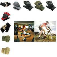 Best Bike Gloves Motorcycle Cycling Half Finger Bicycle Riding Training Sport