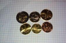 NUEVOS Euros Andorra  2014 6 VALORES new coins andorra 2014  6 COINS