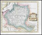 1764 - POLAND LITHUANIA & PRUSSIA Volhinia Podolia by Thomas Jefferys (KWM13)