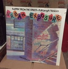 """Urban Exposure"" Rappin From The Street VINYL LP 1986 Hip Hop SEALED Run DMC NOS"