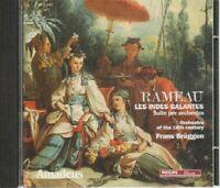 RAMEAU LES INDES GALANTES Franz Bruggen CD Audio Abbinam Amadeus