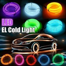 EL Wire 2M 5M Neon Lights LED Lamp Flexible Rope Tube LED Strip Party Car Decor