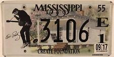 ELVIS PRESLEY BIRTHPLACE license plate Tupelo Graceland Memphis Rock Roll Music