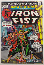 Marvel Premiere 16   2nd appearance Iron Fist & 1st Scythe   high grade  CGC it!