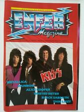 ENFER MAGAZINE n° 6 Kiss Metallica Twisted Sister Thin Lizzy hard rock 1983