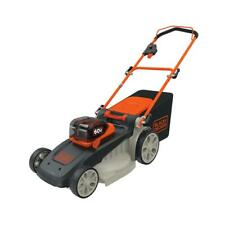 20 In. 60-Volt Lithium Ion Cordless Electric Walk Behind Push Mower W/ (2) 2.5 A