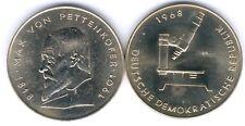 DDR Medaille Max von Pettenkofer 1968, D.39,95mm, Gewicht 22,34g, UNC.-