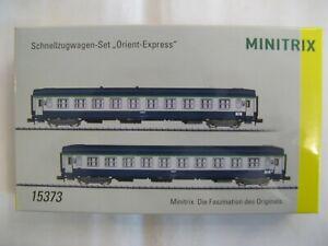 Minitrix coffret 2 voitures UIC COUCHETTES