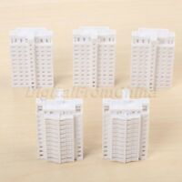 5Pcs HO Scale 1:800 Modern Tall Building For Outland Model Train Railway layout