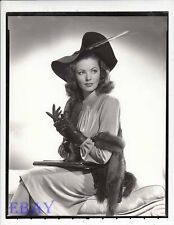 Gene Tierney Photo From Original Negative