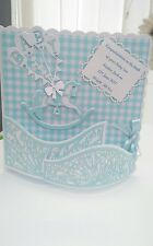 Personalised 3d Christening/birthday/New Baby Handmade Card boy or girl