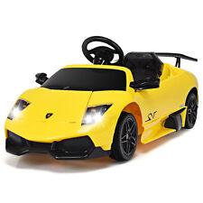 12V Lamborghini Murciealgo Licensed Electric Kids Ride On Car RC w/ LED Lights