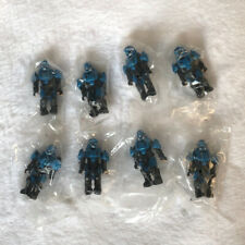Mega Bloks Construx Halo Drop Pod UNSC ODST 8 figures lot *New Sealed* Toys