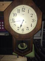 Howard Miller (Katherine) vintage Wall Clock (1977).