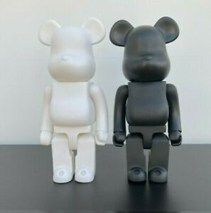 Bearbrick Action Figure Ornament Toy Collection 28CM (BLACK&WHITE) TWIN PACK