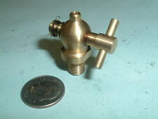 Mini Model Hit and miss Gas engine Brass Unspouted Drain Valve 1/16 npt Thread