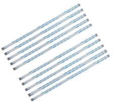 10Pcs 8pin 100mm AWM 20624 80C Ribbon Cable laptop Flex Kabel .5mm  8 pin 10cm A