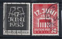 Berlin 1953 Mi. 110-111 Used 100% History